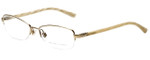 Ralph Lauren Designer Eyeglasses RL5055-9116 in Light Gold 51mm :: Rx Single Vision