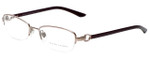 Ralph Lauren Designer Eyeglasses RL5067-9095 in Gold Bordeaux 52mm :: Rx Single Vision