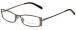 Ralph Lauren Designer Reading Glasses RA6036-452 in Bronze 49mm