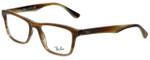 Ray-Ban Designer Eyeglasses RB5279-5542 in Brown Horn 53mm :: Custom Left & Right Lens