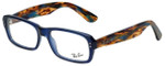 Ray-Ban Designer Reading Glasses RB5223-5006 in Blue Brown 54mm