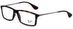 Ray-Ban Designer Reading Glasses RB7021-5365 in Matte Tortoise 55mm