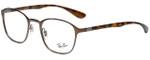 Ray-Ban Designer Eyeglasses RB6357-2877 in Tortoise 48mm :: Progressive