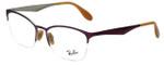 Ray-Ban Designer Eyeglasses RB6345-2864 in Pink 52mm :: Rx Bi-Focal