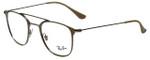Ray-Ban Designer Eyeglasses RB6377-2909 in Gunmetal 48mm :: Custom Left & Right Lens