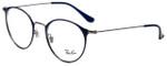 Ray-Ban Designer Eyeglasses RB6378-2906 in Blue 49mm :: Custom Left & Right Lens