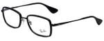 Ray-Ban Designer Eyeglasses RB6336-2509 in Black 53mm :: Custom Left & Right Lens