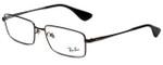 Ray-Ban Designer Eyeglasses RB6337M-2620 in Gunmetal 53mm :: Custom Left & Right Lens