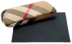 Burberry Authentic Canvas Eyeglass Case with Cleaning Cloth