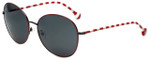 Jonathan Adler Designer Sunglasses Newport in Red