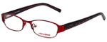 Converse Designer Eyeglasses K006-Red in Red 49mm :: Rx Bi-Focal