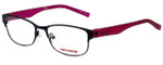 Converse Designer Eyeglasses K016-Black in Black and Pink 50mm :: Rx Bi-Focal