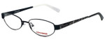 Converse Designer Eyeglasses Purr-BLK in Black 49mm :: Rx Bi-Focal