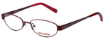 Converse Designer Eyeglasses Purr-Red in Red 49mm :: Rx Bi-Focal