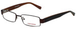 Converse Designer Eyeglasses Wait-For-Me-Brown in Brown 49mm :: Rx Bi-Focal
