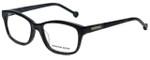 Jonathan Adler Designer Eyeglasses JA313-Black in Black 51mm :: Custom Left & Right Lens