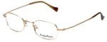 Lucky Brand Designer Eyeglasses Miles in Brushed Gold :: Rx Single Vision