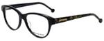 Jonathan Adler Designer Eyeglasses JA310-Black in Black 53mm :: Progressive