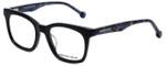 Jonathan Adler Designer Eyeglasses JA312-Black in Black 49mm :: Progressive