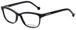 Jonathan Adler Designer Eyeglasses JA316-Black in Black 53mm :: Progressive