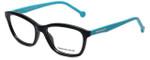 Jonathan Adler Designer Eyeglasses JA501-Black in Black 54mm :: Progressive