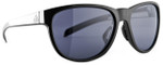 Adidas Designer Sunglasses Wildcharge in Shiny Black & Grey Lens