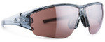 Adidas Designer Sunglasses Evil Eye Halfrim in Grey Transparent Shiny & LST active silver Lens