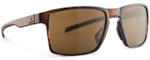 Adidas Designer Sunglasses Wayfinder in Brown Havana & Brown Lens