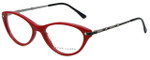Ralph Lauren Designer Eyeglasses RL6099B-5310 in Red 53mm :: Rx Single Vision