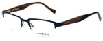 Lucky Brand Designer Eyeglasses Cruiser-Blue in Blue and Brown 51mm :: Custom Left & Right Lens