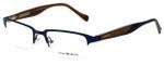 Lucky Brand Designer Eyeglasses Cruiser-Blue in Blue and Brown 51mm :: Progressive