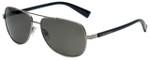Lucky Brand Designer Sunglasses D909 in Gunmetal with Grey Lens