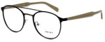 Prada Designer Eyeglasses VPR60T-LAH1O1 in Matte Brown 49mm :: Rx Single Vision