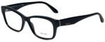 Prada Designer Eyeglasses VPR24R-1AB1O1 in Black 54mm :: Progressive