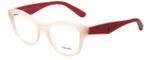 Prada Designer Eyeglasses VPR29R-UEW1O1 in Light Pink 52mm :: Rx Bi-Focal