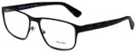Prada Designer Eyeglasses VPR56S-LAH1O1 in Matte Brown 53mm :: Rx Single Vision