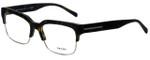 Prada Designer Eyeglasses VPR19R-HAQ1O1 in Matte Havana 56mm :: Rx Bi-Focal