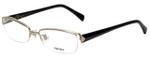 Prada Designer Eyeglasses VPR64N-ZVN1O1 in Gold and Tortoise 54mm :: Rx Bi-Focal
