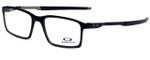 Oakley Designer Eyeglasses Steel LinesOX8097-0152-52 in Satin Black 52mm :: Progressive