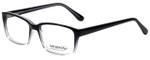 Gotham Style Designer Eyeglasses GS42-BLKF in Black Fade 56mm :: Progressive