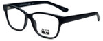Gotham Style Designer Eyeglasses GS234-MBLK in Matte Black 56mm :: Rx Bi-Focal