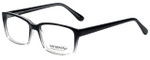 Gotham Style Designer Eyeglasses GS42-BLKF in Black Fade 56mm :: Rx Bi-Focal