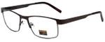 Gotham Style Designer Reading Glasses GS11-BRN in Brown 59mm