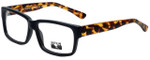 Gotham Style Designer Reading Glasses GSF23-MBLKTORT in Matte Black Tortoise 56mm