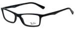 Ray-Ban Designer Eyeglasses RB5284-2000 in Black 52mm :: Custom Left & Right Lens