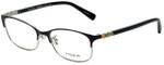 Coach Designer Eyeglasses HC5084D-9192 in Satin Black 53mm :: Progressive