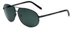 Azzaro Designer Polarized Sunglasses AZ4384-C1 in Black 63mm