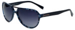 Azzaro Designer Polarized Sunglasses AZ4402-C3 in Blue Marble 60mm