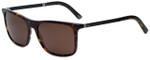 Dolce & Gabbana Designer Sunglasses DG4242-502/73 in Havana 56mm