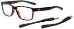 Nike Designer Eyeglasses Nike-7091-INT-200 in Matte Tortoise 54mm :: Rx Bi-Focal